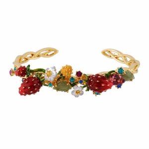 les nereides floral fruit spring bracelet